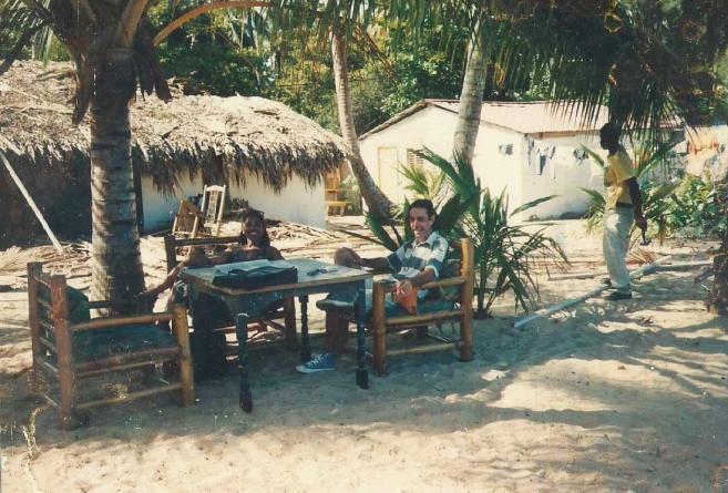 L'actuel XO,autrefois la cabane de Michel