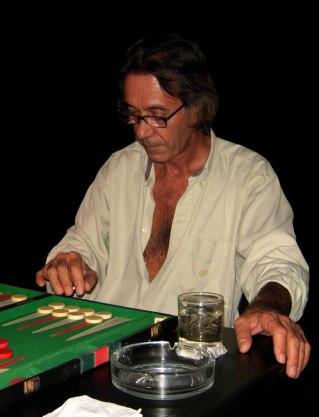 Backgammon jusqu'au bout de la nuit