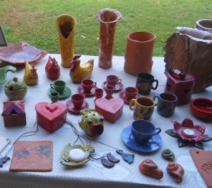 Ceramica Verena. J'aime bien ses jolies cocottes, malheureusement, l'artiste cesse la production de ses jolies céramiques.