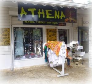 Athena, mignonne boutique pour jolies dames.
